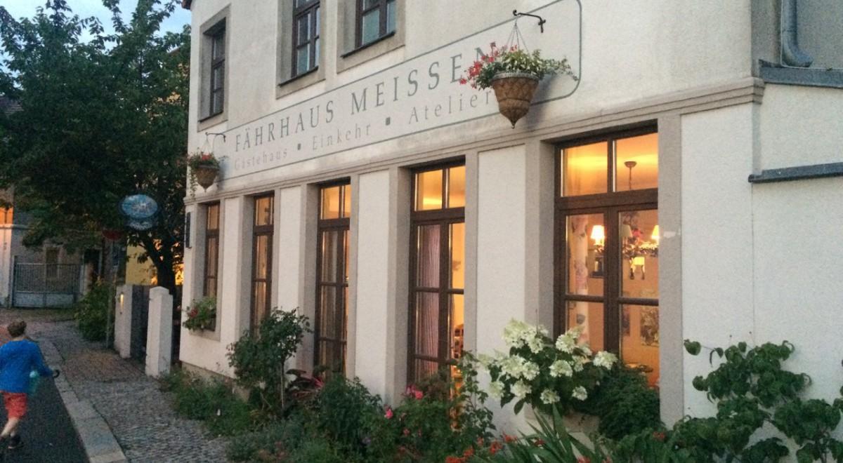 """Hotel """"Altes Fährhaus"""" Meißen – schöne Abendstimmung"""